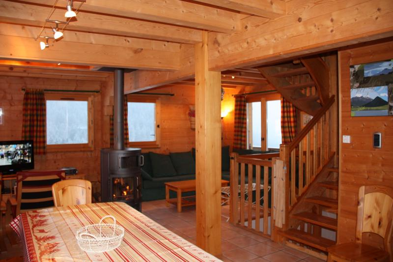 Dining room Location Chalet 2379 Praz de Lys Sommand
