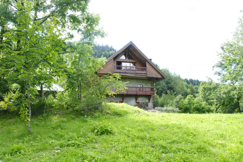 View of the property from outside Location Chalet 2501 Saint Jean d'Arves