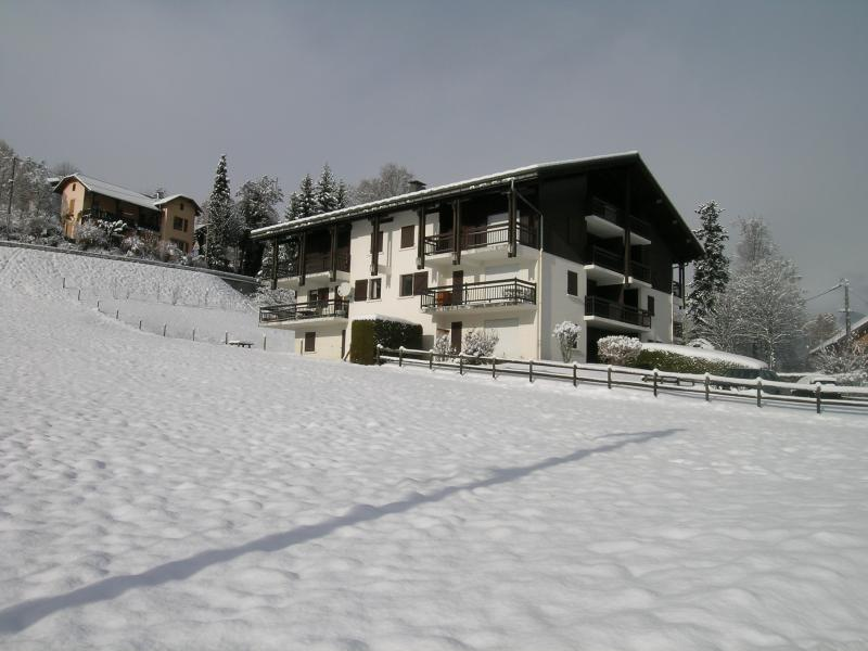 View of the property from outside Location Apartment 2553 Saint Gervais Mont-Blanc