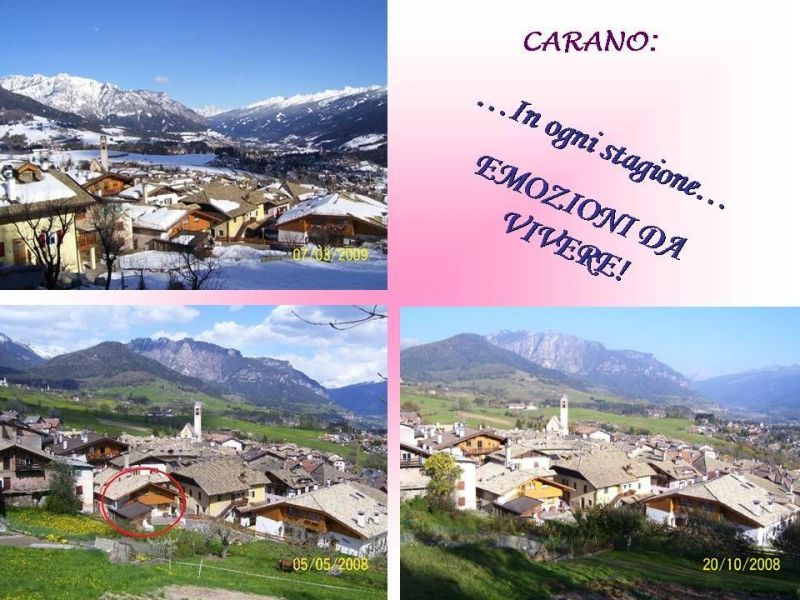 View from the property Location Apartment 25965 Val di Fiemme
