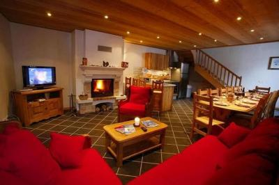 Living room Location Apartment 26150 Valloire