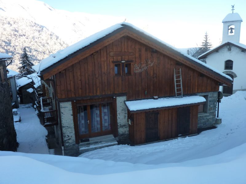 View of the property from outside Location Chalet 26775 Les Menuires