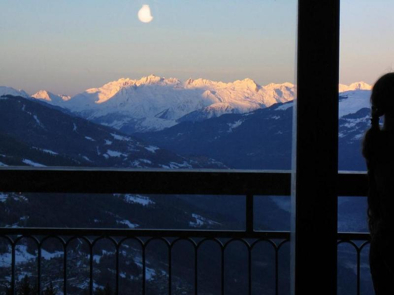 View from the balcony Location Apartment 28016 Les Arcs