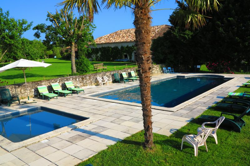 Swimming pool Location Vacation rental 28762 Monpazier