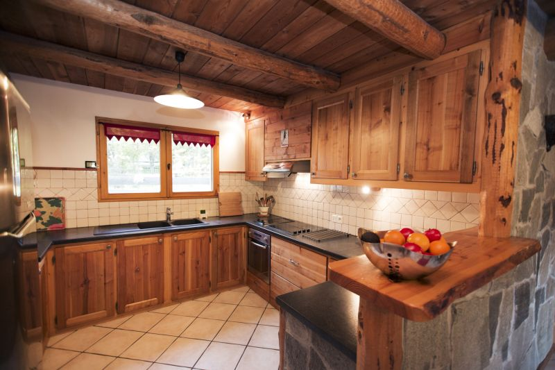 Open-plan kitchen Location Chalet 2931 Serre Chevalier