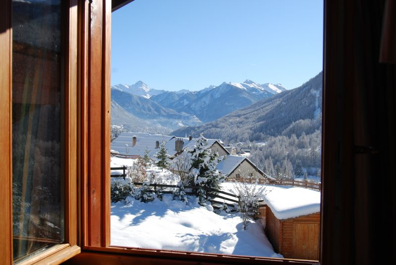 View from the property Location Chalet 2972 Serre Chevalier