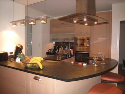 Open-plan kitchen Location Apartment 29849 Quiberon