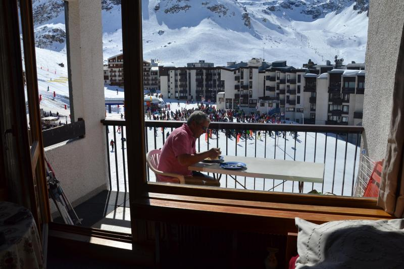 Balcony Location One-room apartment 3137 Tignes