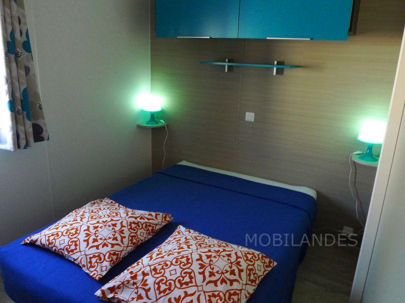 bedroom 1 Location Mobile home 31432 Biscarrosse