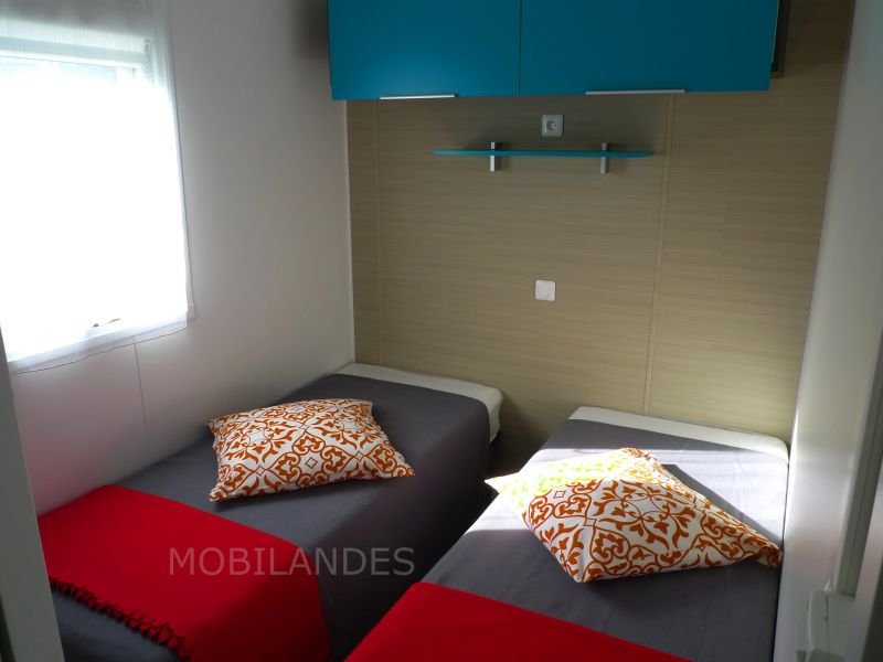 bedroom 2 Location Mobile home 31432 Biscarrosse
