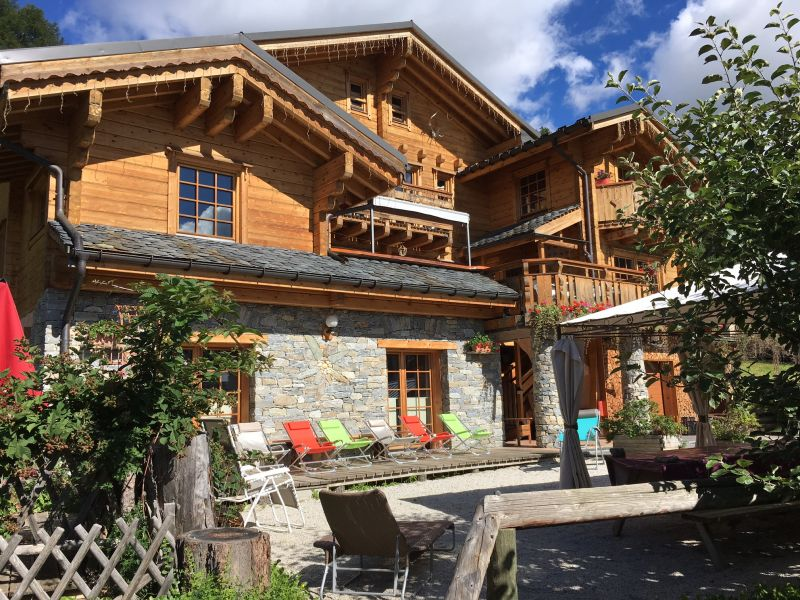 View of the property from outside Location Chalet 31596 La Plagne