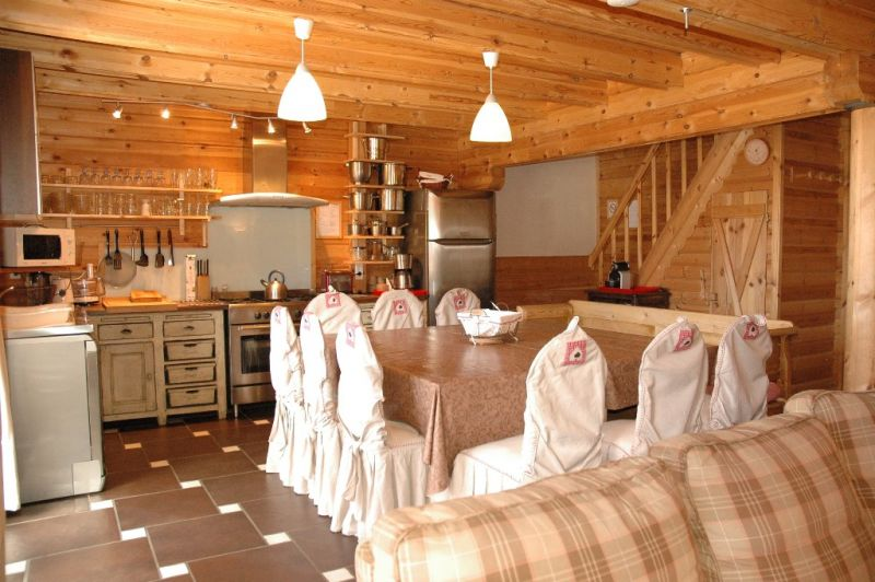 Open-plan kitchen Location Chalet 31596 La Plagne
