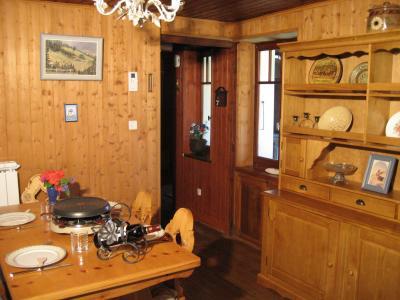 Dining room Location Apartment 32184 Chamonix Mont-Blanc