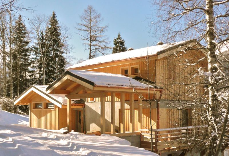 View of the property from outside Location Chalet 32551 Les Contamines Montjoie