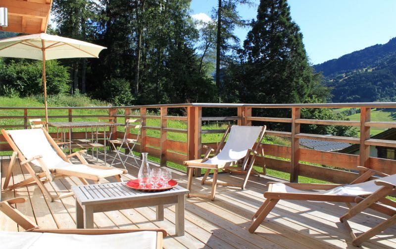 Terrace 1 Location Chalet 32551 Les Contamines Montjoie