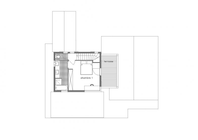 Map of property Location Chalet 32551 Les Contamines Montjoie