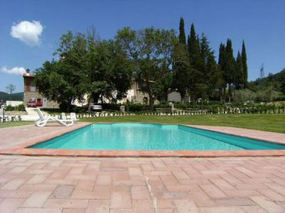 Swimming pool Location Apartment 32822 Greve in Chianti