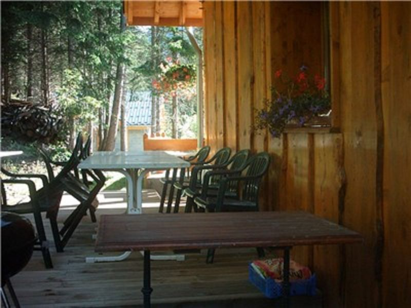 Terrace Location Chalet 3290 Valfréjus