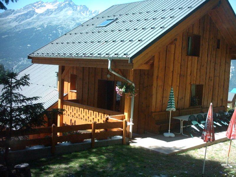 Garden Location Chalet 3290 Valfréjus