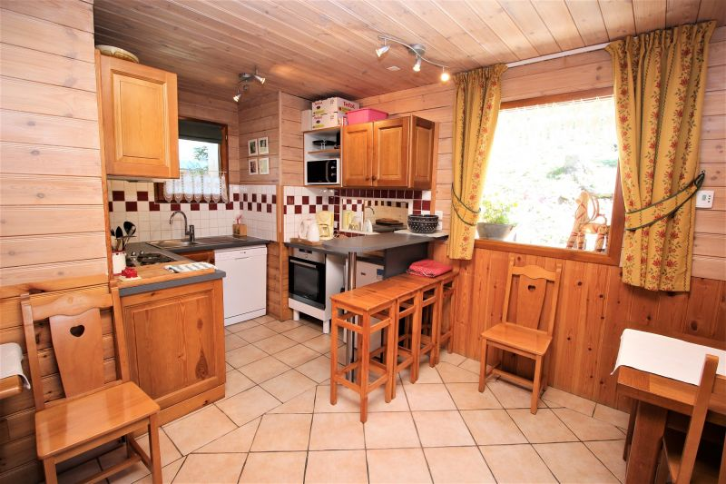 Open-plan kitchen Location Chalet 3290 Valfréjus