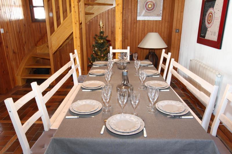 Dining room Location Chalet 3638 Vars