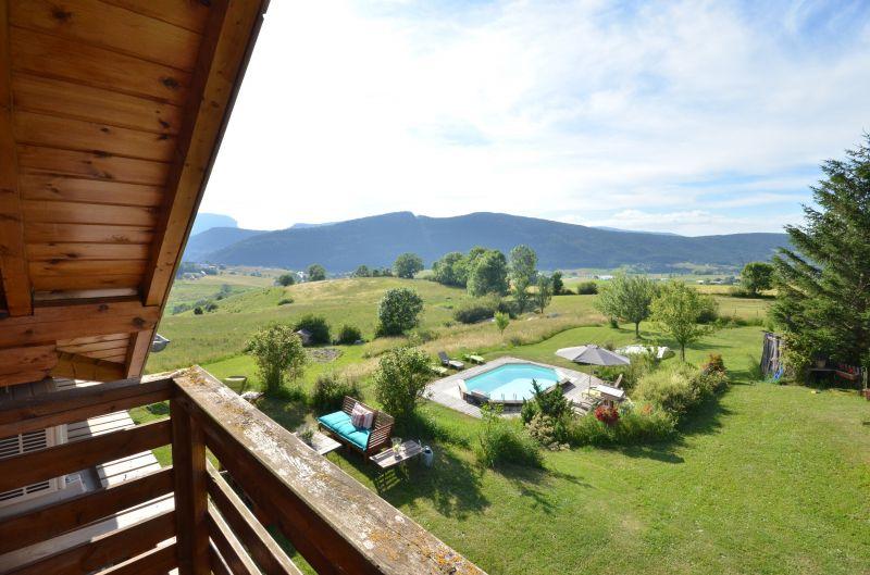 View from the balcony Location Chalet 3641 Villard de Lans - Corrençon en Vercors