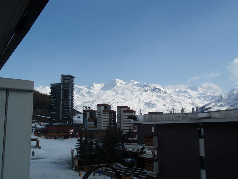 View from the balcony Location Apartment 37394 Les Menuires