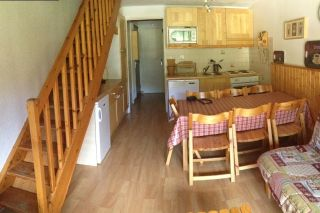 Living room Location Apartment 38691 Risoul 1850