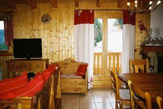 Living room Location Chalet 38701 Abondance
