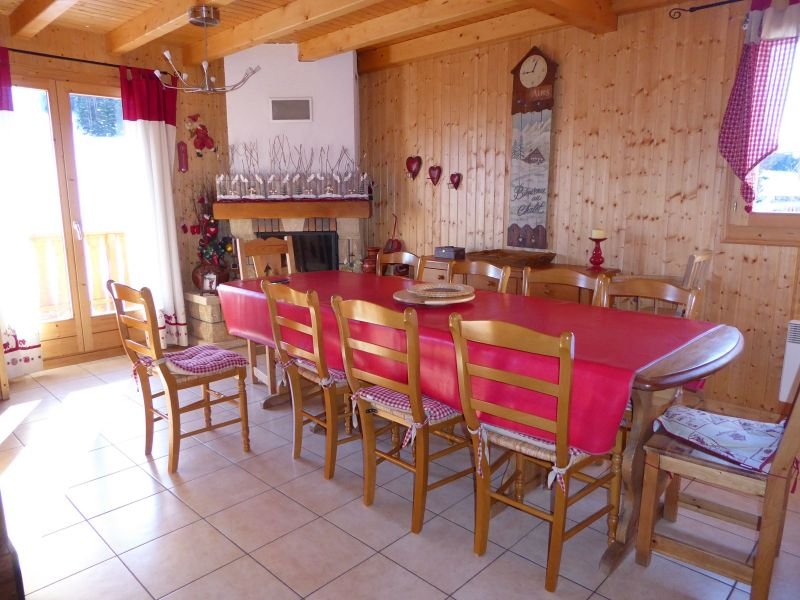 Dining room Location Chalet 38701 Morzine