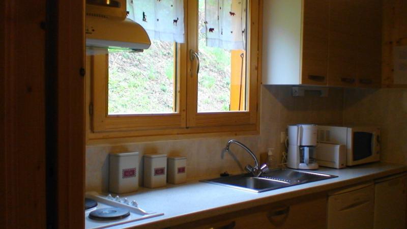Separate kitchen Location Chalet 38701 Morzine