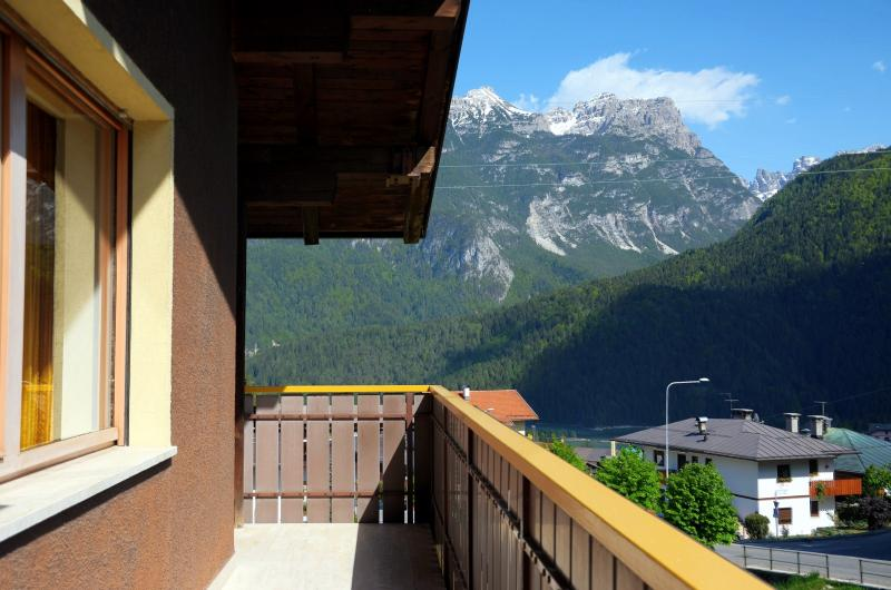 View from the terrace Location Apartment 40563 Cortina d'Ampezzo