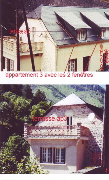 Terrace Location Apartment 4086 Cauterets
