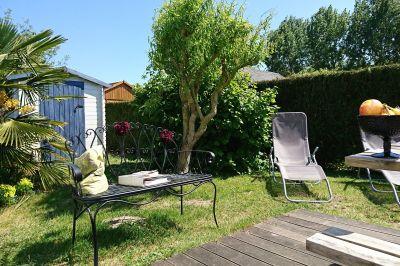 Garden Location Vacation rental 40949 Hauteville-sur-Mer