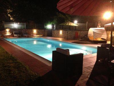 Swimming pool Location Villa 42020 Umbertide