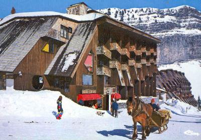 View of the property from outside Location One-room apartment 424 Avoriaz