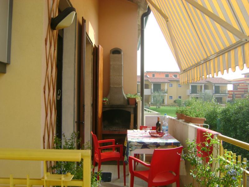 Summer kitchen Location Apartment 42959 Lazise