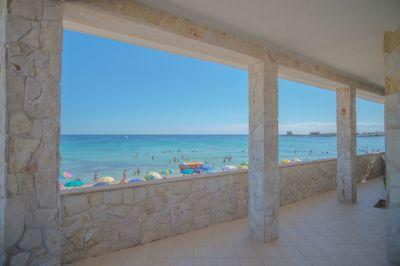 View from the balcony Location Apartment 43561 Porto Cesareo