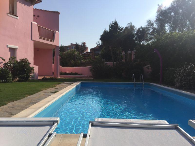 Swimming pool Location Villa 44032 Stintino