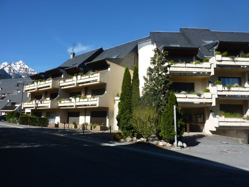 View of the property from outside Location One-room apartment 4468 Saint Lary Soulan