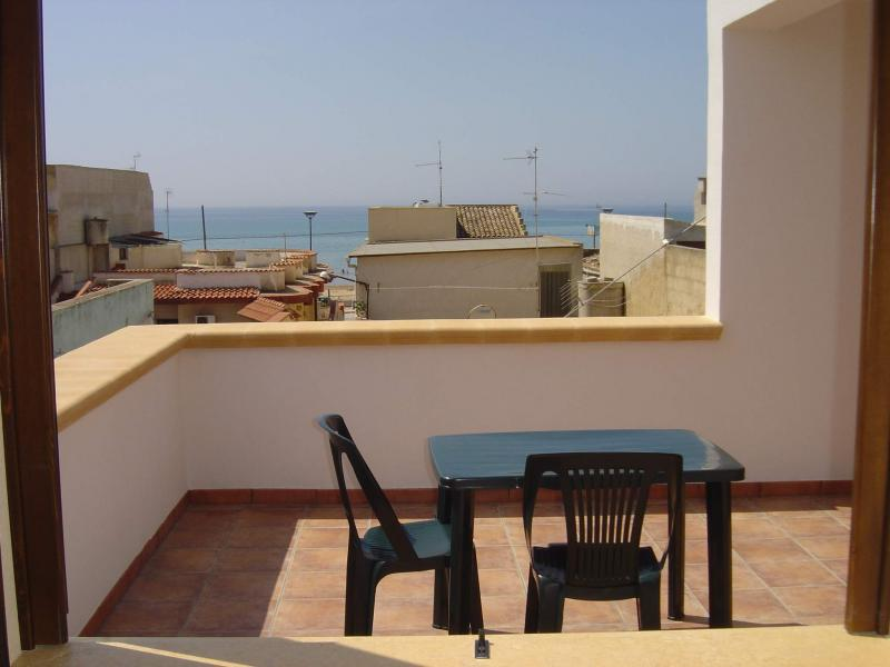 View from the terrace Location House 49021 Tre Fontane