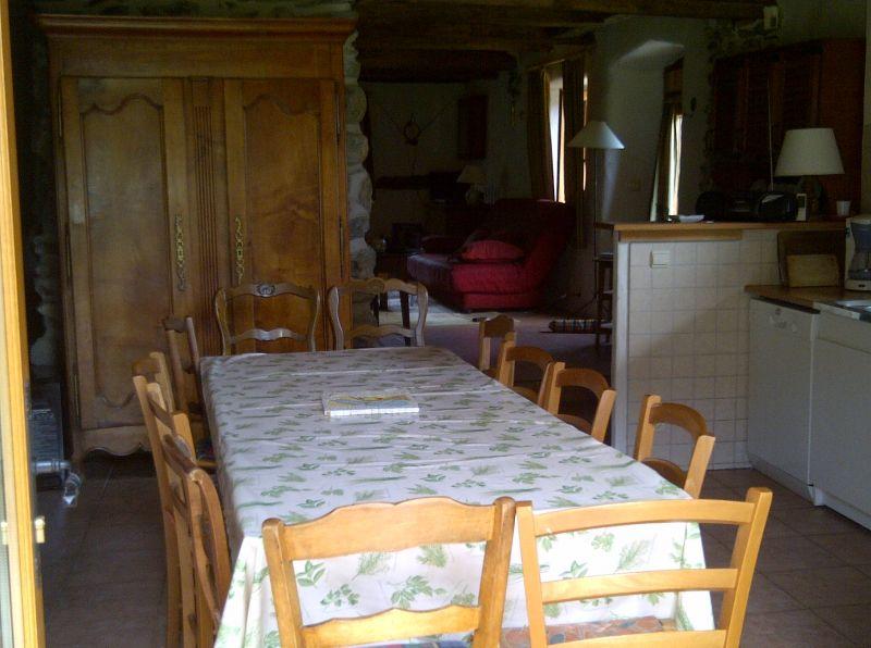 Dining room 1 Location Chalet 4903 Chamonix Mont-Blanc