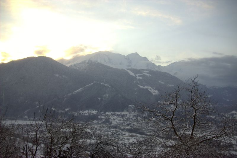 View from the property Location Chalet 4903 Chamonix Mont-Blanc