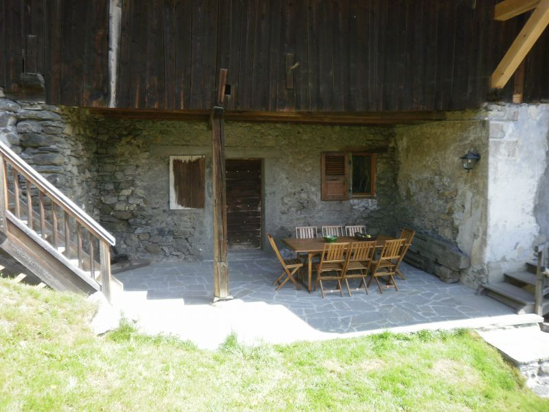 Terrace 2 Location Chalet 4903 Chamonix Mont-Blanc