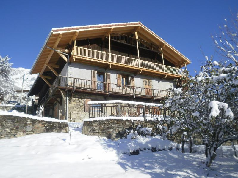 View of the property from outside Location Chalet 4903 Chamonix Mont-Blanc