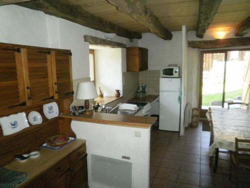 Open-plan kitchen Location Chalet 4903 Chamonix Mont-Blanc