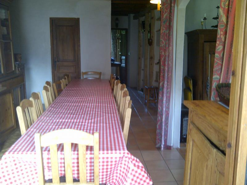 Dining room 2 Location Chalet 4903 Chamonix Mont-Blanc