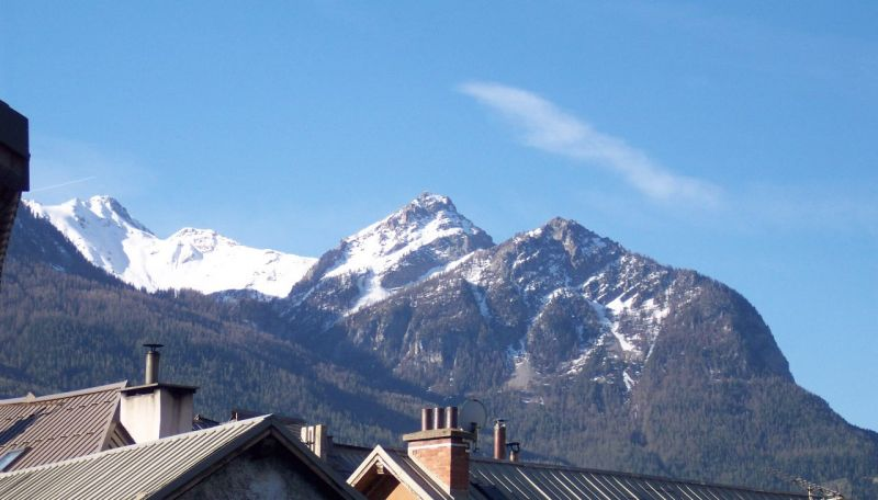 View from the balcony Location One-room apartment 491 Briançon