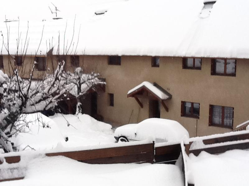 View of the property from outside Location One-room apartment 491 Briançon