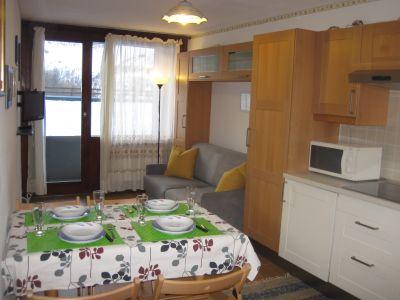 Kitchenette Location One-room apartment 49227 Cervinia (Breuil)